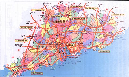 1,广深高速公路(广州广氮-深圳皇岗口岸)  2,莞深高速公路(东莞