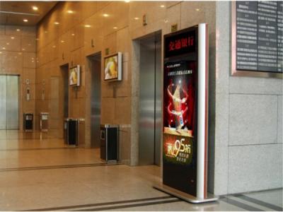 电梯广告 电梯扶手高广告 电梯广告牌